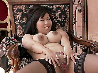 Tigerr Benson is a breasty oriental hottie with awesome butt