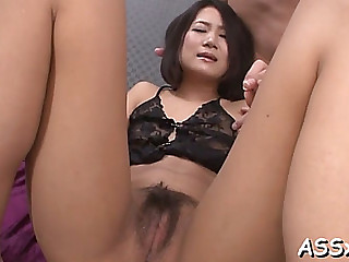 Exciting oriental 3some sex