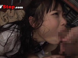 Cute Asian Teen Schoolgirl Throat Fucked