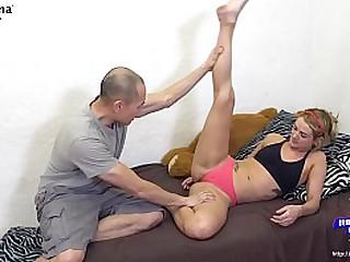 Asian Yoga Instructor Seduce Breed Fuck Blonde Yoga Student - BananaFever