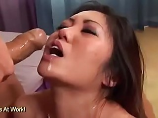 Kaiya Lynn Has Her Pretty Asian Face Fucked