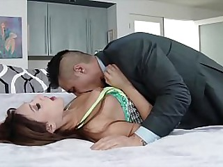 Asian FOB Fucked His White Step Daughter