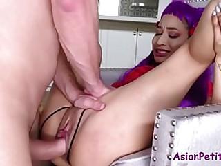 Teen Asian Slut Fucks Mature Man