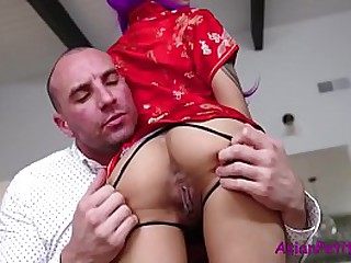 Asian Mother and Daughter fucked