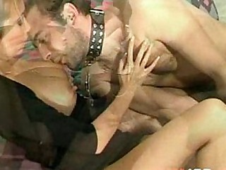 Busty Asian Whore dominating a french guy