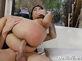 Horny asian bitch