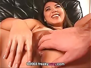 Asian Fisting and Objects