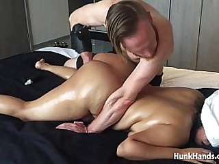 Big Ass 20yo asian CHOKED during real massage… SQUIRTS! »»Do you want to learn the EASY way to make ANY girl have a SQUIRTING ORGASM? Watch my video tutorial now... FREE! Go to → HunkHands.com