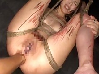 Asian mature Absolute throated milf extreme multiple bukkake