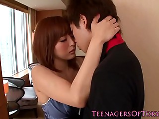 Awesome japanese teen babe fucking