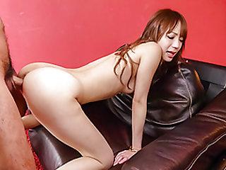 Curvy ass doll, Ayaka Fujikita, sure needs a good fuck