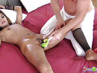 Skinny Thai cutie Nakwan gets fucked by a tourist