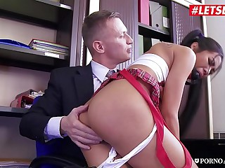 LETSDOEIT - Anal College Graduation For Cute Asian Teen Brunette Polly Pons