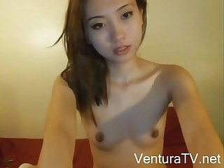 Asian Teen Horny On Webcam - www.VenturaTV.net