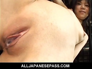 Hard nasty sex for Minami Asaka in prison