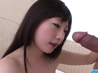 Impressive Asian porn along brunette Arisa Nakano
