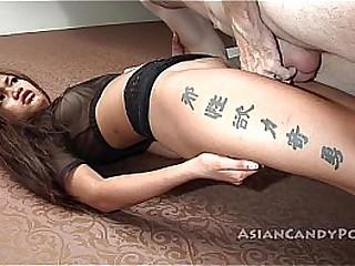 sweet asian hard fuck