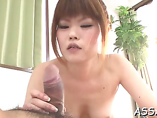 Delightsome japanese trio sex