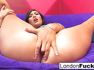 London's anal solo dream