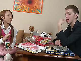 Unfathomable anal for a hot oriental legal age teenager